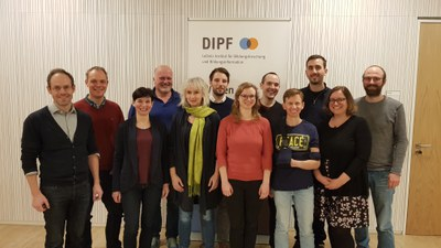 Picture of the DiFA Team at the kick off meeting (06.02.2020).